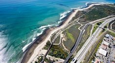 (See T-Shirt Pins) #CAsSurf | Church, Middles, Lowers, Uppers, Cotton's -- and the creeks that created their signature cobblestone reefs. San Onofre State Beach in San Diego County, California