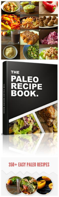 The Paleo Recipe Book, a great resource for fun, healthy meals and snacks to keep you at your best! Paleo Diet Snacks, Paleo Salad Recipes, Paleo Recipes Easy, Lunch Recipes, Pasta Recipes, Healthy Eating, Healthy Meals, Paleo Pasta, Paleo Cookbook