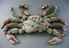 Absoulutely Beads 2007 Karen Crabb Encrusted Crustacean Edmonds, WA BEST OF THE SHOW PEOPLE'S CHOICE AWARD