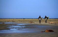 The Surfers Photo by Emanuele Del Bufalo — Long Beach near Tofino, BC, Canada