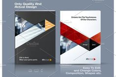 Business vector template. Brochure design, cover modern layout, . Business Infographic