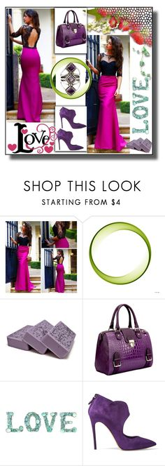 """""""set 57"""" by fahirade ❤ liked on Polyvore featuring Dasein, Casadei and NOVICA"""