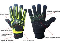 High End Mechanic Mechanic Gloves, Terry Towel, Fabric, Tejido, Tela, Fabrics, Tejidos