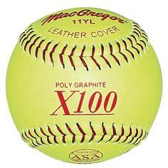 Macgregor Asa Fast Pitch Softball - http://homerun.co.business/product/macgregor-asa-fast-pitch-softball/
