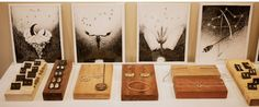 wooden blocks for jewelry display