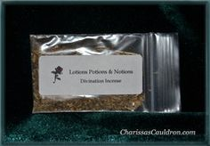 Divination Powdered Incense by Lotions Potions Notions
