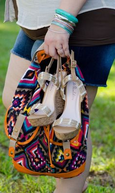 Deb Shops tribal backpack