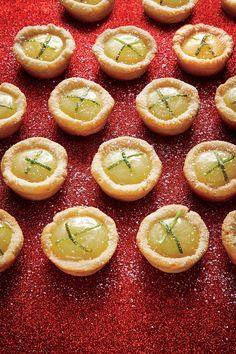 It's no secret that peak Key lime season is summer, but these Key lime recipes are worth making year-round – even if they send you on a scavenger hunt for the tasty fruit. Perfect your summer pool day with a Key Lime Ice Pop or a Key Lime Curd Cone. Mini Desserts, Dessert Recipes, Summer Desserts, Dessert Cups, Dessert Buffet, Lemon Desserts, Party Recipes, Lunch Recipes, Delicious Recipes
