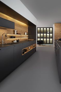 Luxury Kitchen Design, Kitchen Room Design, Kitchen Cabinet Design, Home Decor Kitchen, Interior Design Kitchen, Home Design, Design Ideas, Kitchen Ideas, Kitchen Storage