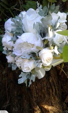 Artificial bridal bouquet + buttonhole | Trade Me