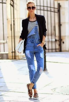 Chic outfit ideas with slip on :)