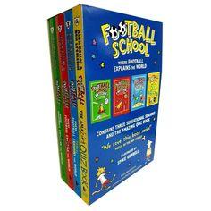 Football School Series Top Scorers 4 Books Collection Box Set Season Pack