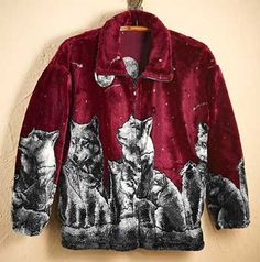 b634c5110 8 Best The mighty wolf fleece images