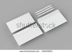 "augustos's ""Stationery mockup"" set on Shutterstock"