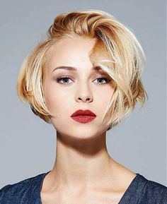 20 Bob Haircuts You Just Want to Try: #7. Blonde short bob; #bob; #bobhairstyles