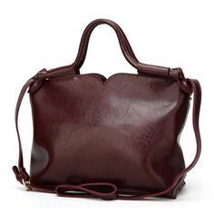 4d1778a57fb2 Roman Design Oil Wax Leather Casual Bag