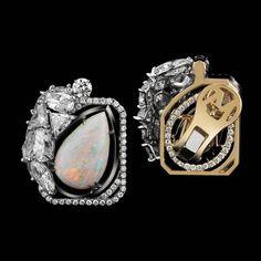 Slanted Pear-Shaped Opal