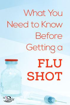 Flu shots are new and improved this year! Here's everything you need to know before getting one for yourself or for your family.