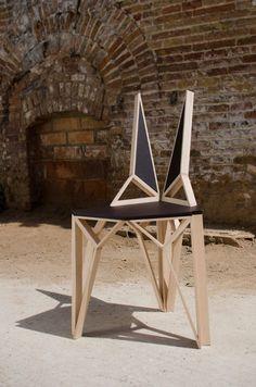 Chaise AlterEgo par Albert Puig