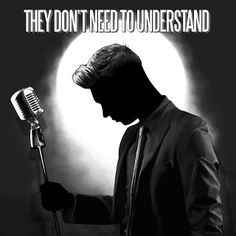 I LOVE THIS SONG SO MUCH!<3 ANDY BLACK- THEY DONT NEED TO UNDERSTAND
