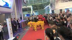 Qatar Cargo booth inauguration at Air Cargo China 2016 in Shanghai