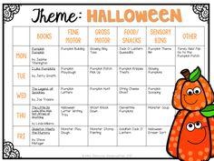 Tot School: Halloween - Mrs. Plemons' Kindergarten
