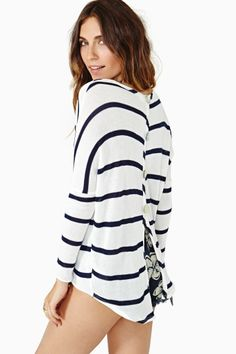 Coasting The Coast Knit $58.00