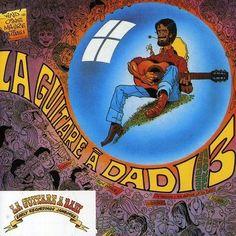 Marcel Dadi, La Guitare A Dadi, dessin Gotlib, 1974