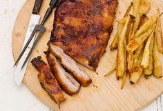 Maggie Beer's Roast pork belly with verjuice and Seville marmalade glaze