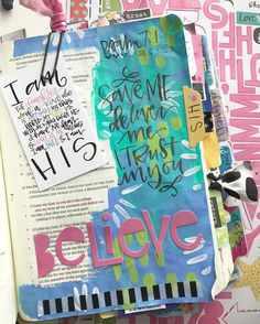 Bible Journaling by @valeriewieners