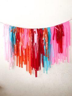 This item is unavailable Diy Tassel Garland, Balloon Tassel, Tassels, Diy Backdrop, Backdrop Wedding, Fiesta Decorations, Spring Decorations, Picture Backdrops, Tissue Paper Garlands