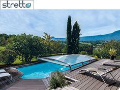 telescopique Stretto - abri de piscine telescopique STRETTO