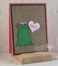 A great idea for hand made Valentines card
