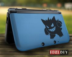 Gengar Nintendo 3DS Nintendo 3DS XL vinyl decal by pixdesign, $8.90