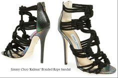 Jimmy Choo 'Kalmar' Braided Rope Sandal https://www.facebook.com/pages/Fashion-Trends-and-Discounts/137797606390386