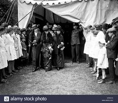 Download this stock image: British & Russian Royal Families - Queen Alexandra; Maria Feodorovna Romanova, Dowager Empress of Russia and Princess Victori... - G7DX1H from Alamy's library of millions of high resolution stock photos, illustrations and vectors.