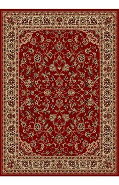 $5 Off when you share! Radici Bellissima 1833 Red Rug