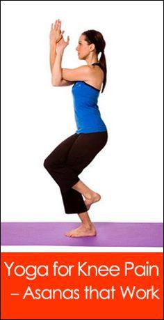 Yoga for Knee Pain – Asanas that Work #YogaForKneePain #KneePain