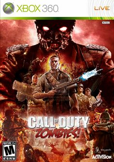 cod bo2 zombies    Call of Duty Zombies Game Cover by deLillo-graFix