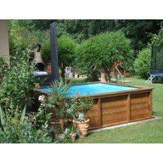 holzpool weka korsika - schwimmbecken aus holz - eine erfrischende, Hause und Garten