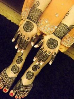 This is beautiful and amazing. If you are planing for hand and feet then this is must to try