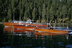 Chris Craft Boats Art - Classic Wooden Runabouts  by Steven Lapkin