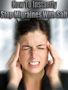 Treating migraines is not easy. Although there is a number of advertised migraine medication, none of them seems to provide pain relief, in addition, they are expensive and full of harmful chemicals. We suggest an all-natural, effective and most importantly completely safe natural remedy for your migraines... #health #remedy #migraines