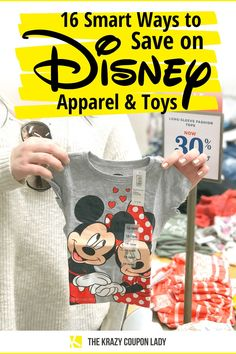 Disney merch is expensive, right? Fortunately, we've found some smart ways to save money on the Disney products your kids want, ranging from using rewards points to rummaging through online stores for deals on Disney classic dolls (and a lot more). If you're a parent in search of Disney clothes, accessories, Disney toys, or any other type of Disney merchandise- The Krazy Coupon Lady has the shopping tips