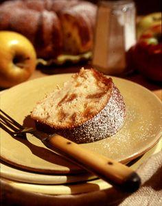 Lemony Apple-Cider Caramel Cake  - CountryLiving.com