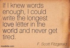 f scott fitzgerald love quotes - Google Search