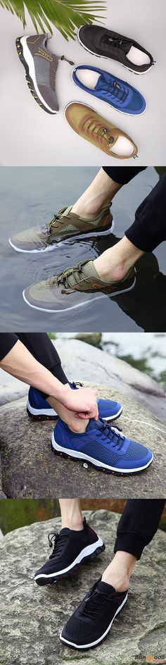 US$30.14 + Free shipping. Men Shoes, Breathable Shoes, Mesh Shoes, Climbing Shoes, Hiking Shoes, Outdoor Shoes, Athletic Shoes, Sports Shoes. Color: Black, Kahki, Gray, Blue. Comfortable Footwear with Low Price.