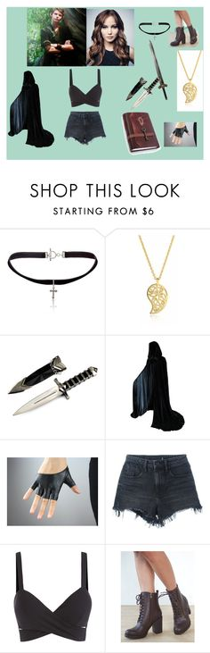 """""""The dangerous pair"""" by dragana98-pan on Polyvore featuring Once Upon a Time, Yves Saint Laurent, Sonal Bhaskaran, Alexander Wang and Wet Seal"""