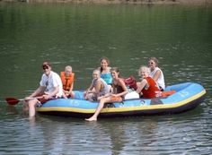 Plan a float trip on the Illinois River in Tahlequah, Oklahoma via canoe, kayak or inflatable raft. Then, wind down at one of the nearby resorts' campgrounds, golf courses, cabins and volleyball courts.