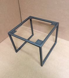 Clarifying Rudimentary Elements In DIY Welding - Wood And Metal Welded Furniture, Iron Furniture, Steel Furniture, Industrial Furniture, Design Industrial, Industrial Table Legs, Furniture Design, Coffee Table Base, Steel Coffee Table